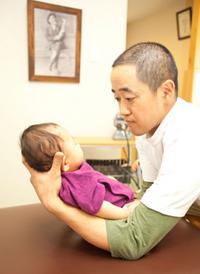 赤ちゃんのためのオステオパシー